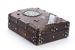 Caja vieja cerrada del Quran Imágenes de archivo libres de regalías