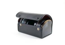 Caja vieja de lente Fotografía de archivo libre de regalías