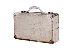Caja vieja del metal de la abolladura Imágenes de archivo libres de regalías