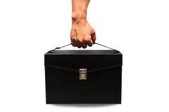 Caja y recurso seguro del equipo de primeros auxilios para el caso de emergencia Caja del equipo de primeros auxilios y medicina  Imágenes de archivo libres de regalías