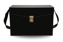 Caja y recurso seguro del equipo de primeros auxilios para el caso de emergencia Caja del equipo de primeros auxilios y medicina  Foto de archivo libre de regalías