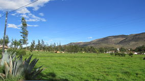 Cajamarcaplatteland Royalty-vrije Stock Foto's