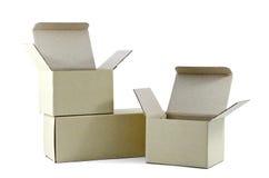 Cajas Imagen de archivo libre de regalías