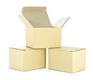 Cajas Imágenes de archivo libres de regalías