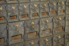 cajas Foto de archivo