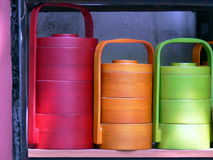 Cajas coloridas fotos de archivo