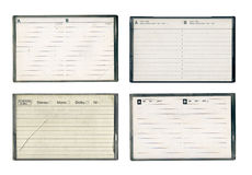 Cajas compactas del cassette de la vendimia Fotografía de archivo