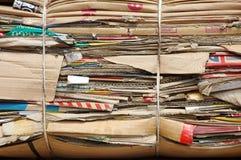 Cajas de cartón viejas Imagenes de archivo