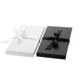 Cajas de carte cadeaux foto de archivo