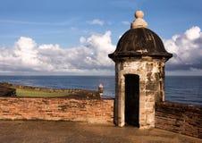 Cajas de centinela de San Juan viejo Foto de archivo libre de regalías