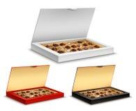 Cajas de chocolates stock de ilustración