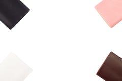 Cajas de las cubiertas para los smartphones, teléfonos Fotos de archivo