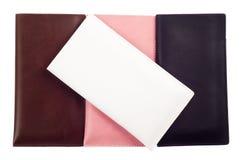 Cajas de las cubiertas para los smartphones, teléfonos Foto de archivo