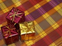 Cajas de regalo Fotos de archivo libres de regalías