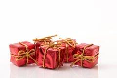 Cajas de regalo Fotos de archivo