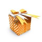 Cajas de regalo del día del ` s de la Navidad y del Año Nuevo, backg del blanco de las cajas de regalo Imágenes de archivo libres de regalías