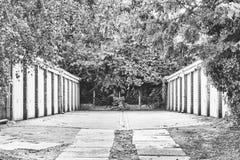 Cajas del garaje Fotos de archivo libres de regalías