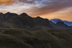 Cajas National Park Cuenca Ecuador Stock Photography