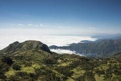 Cajas park narodowy, Andyjscy średniogórza, Ekwador Obrazy Stock