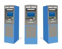 Cajero automático del banco de la atmósfera Foto de archivo