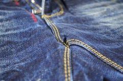 Cajgów spodnia Fotografia Royalty Free