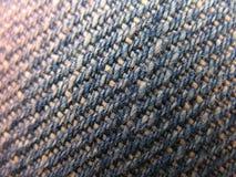 cajg błękitny drelichowa tekstura Obrazy Stock