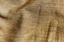 Cajg tekstylna tekstura w brown kolorze Zdjęcie Royalty Free