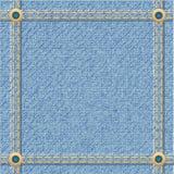 Cajgi texture dla projekta Zdjęcie Stock