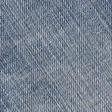 Cajgowy tkaniny tło, tekstura bawełna Zdjęcia Stock