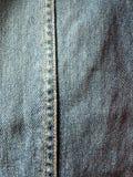 Cajgowy tkaniny tekstury tło Zdjęcie Royalty Free