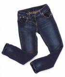 cajgowy trouser Zdjęcia Stock