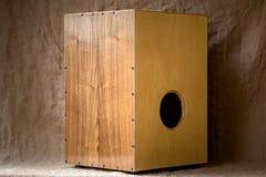 Cajon - Афро-перуанский музыкальный инструмент Стоковое Изображение RF