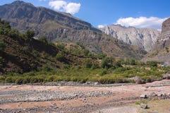 Cajon del Maipo - Чили - XII - Стоковое Изображение RF