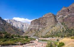 Cajon del Maipo - Чили - XXI - Стоковое фото RF