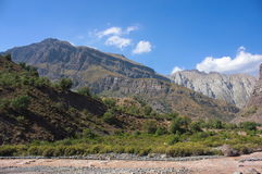 Cajon del Maipo - Чили - XXIV - Стоковая Фотография