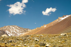 Cajon del Maipo, Chile Stock Photos