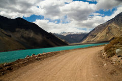 Cajon del Maipo, Chile Stock Images