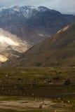 Cajon del Maipo, Chile Royalty Free Stock Photos