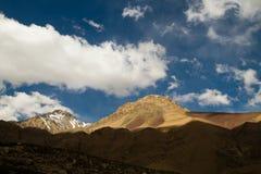 Cajon del Maipo, Chile Stock Image
