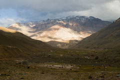 Cajon del Maipo, Chile Stock Photos
