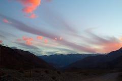 Cajon del Maipo, Chile Royalty Free Stock Image