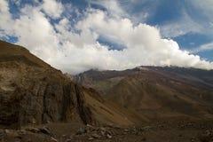 Cajon del Maipo, Chili Photos libres de droits