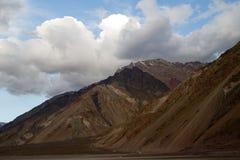 Cajon del Maipo, Chili Images stock