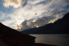 Cajon del Maipo, Chili Photographie stock
