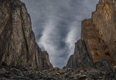 Cajon del Maipo Royalty Free Stock Image