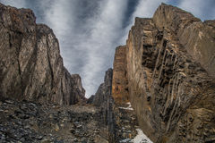 Cajon del Maipo Royalty Free Stock Photo