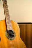 Cajon and guitar Royalty Free Stock Image