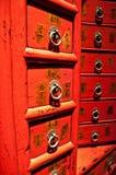 Cajones chinos antiguos Foto de archivo libre de regalías