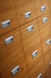 Cajones de la oficina imágenes de archivo libres de regalías