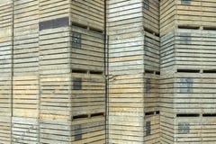 Cajones de madera Fotos de archivo